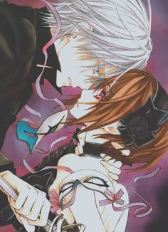 Zero and Yuki from Vampire Knight