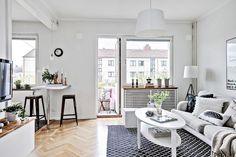 6 trucos para pisos pequeños | La Garbatella: blog de decoración de estilo nórdico, DIY, diseño y cosas bonitas.