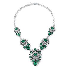 EMERALD CITY WOW!- Elizabeth Taylor, I know you love it! Shine Like a Crystal Necklace | AVON youravon.com/annecoddington #BLING #STYLE #VALUE
