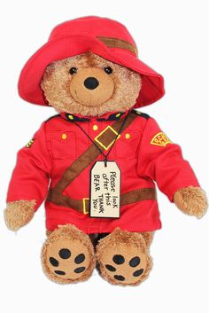 Check out the deal on RCMP Paddington Bear at The Mountie Shop
