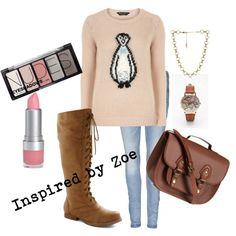 """Winter Tween Fashion - Inspired by Zoe"" by lmgrisez on Polyvore"