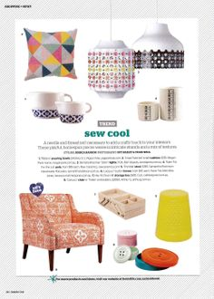 Design in Print│ Inside Out September 2013 featuring the Arthur G Carlucci Chair