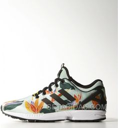 huge selection of 4b313 a0240 Adidas Zx Flux Women Green Maple Leaf Christmas Deals, Price   77.00 - Adidas  Shoes,Adidas Nmd,Superstar,Originals