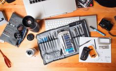 iFixit Pro Tech Toolkit und Magnetic Project Mat