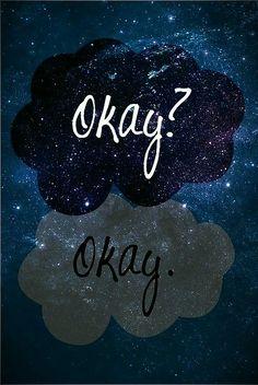 Love Peace and Write: Okay! Picture Tag 4# Depois de ler A Culpa é das Estrelas o Okay para mim está totalmente diferente, já não tem o mesmo significado.: