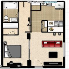 5 Smart Studio Apartment Layouts Cool apartments Kevin oleary