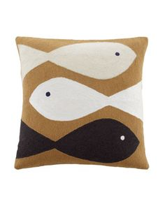 Jonathan Adler Chain-Stitch Needlepoint Pillows - Horchow