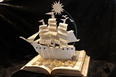 Stories Leap From The Page In Paper Sculptures By Jodi Harvey-Brown