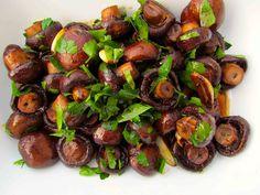 Roasted Mushrooms with Smoked Garlic and Paprika