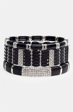 Cara Accessories Stretch Bracelets (Set of 3) available at #Nordstrom  on sale  51.90 Avail south coast.