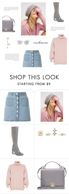"""""""Cashmere Sweater"""" by putricp ❤ liked on Polyvore featuring Miss Selfridge, Free People, Calvin Klein, TIBI, Smythson, Spektre, Howtostyle and cashmeresweater"""