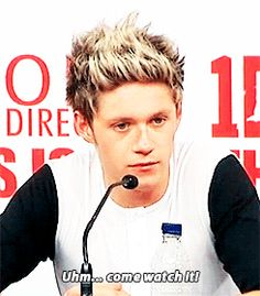 'what can you say to us that will make our boyfriends or people who might not be that into one direction want to come and watch the film?' (gif)