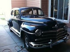 I will have one... 1947 Plymouth P15