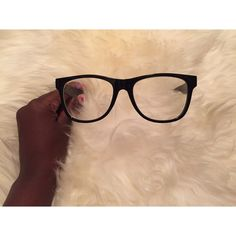 7702821757a Black Hipster Glasses 🎀👓 Black Hipster Glasses. Never Worn. Great  condition. Perfect