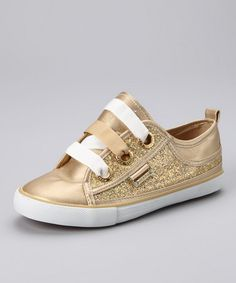 Gold MG Sneakers by Dereon
