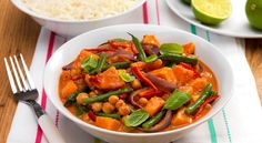 Thai Vegetable Red Curry