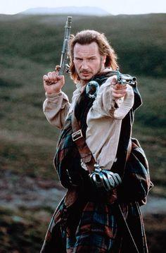Rob Roy MacGregor - Liam Neeson in Rob Roy (1995).