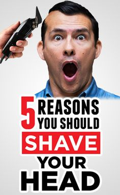 Mens reasons for shaving their heads range from hiding hair loss to religious devotion to uniform regulations. But there are a few reasons why every guy should at least consider trying it out. Bald Head Man, Bald Man, Bald Heads, Shaved Head With Beard, Bald With Beard, Bald Men With Beards, Haircuts For Balding Men, Men's Haircuts, Shaved Head Styles
