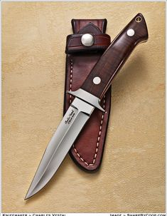 Does it get any cleaner than Charles Vestal's CKCA boot knives? No way.