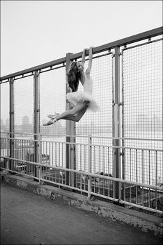 The Ballerina Project is an exploration of the elegant beauty of ballet dancers as seen through the lens of photographer Dane Shitagi. He prefers to photograph his subjects outside on the city streets, inspired by the rawness and atmosphere of the urban landscape.