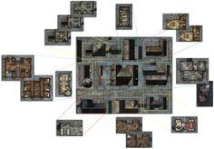 GameMastery Flip-Mat: City Streets