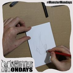 It has begun the creation of Monster Mondays No.3!! What does this one look like?? And the surprise??? Click the link and you might 'like' it!! <<http://ow.ly/UGz4a >> hehe #MonsterMondays #monster #drawing #penandink #art #instaart #instaartist #artist #mentalhealth #mentalhealthawareness #anger #illustration #wip #lion #graphic #anxiety #depression #smashthestigma #stigmafighter #suicideawareness #mentalhealthmatters #recoveryispossible #mentalhealthrecovery