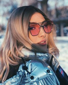 My Idol, Sunglasses Women, Singer, Long Hair Styles, Instagram, Beauty, Band, Girls, Fashion