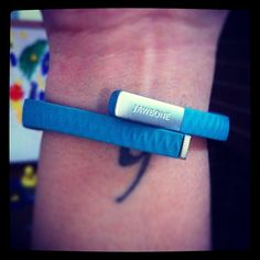 """""""2013 is going to be the year of Anne. Super excited my new Jawbone UP will be my personal sidekick to help me motivate ME and reach my personal physical goals!"""" – Anne"""