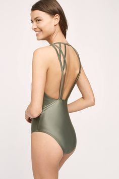 Lenny Niemeyer Sliced Geometry One-Piece