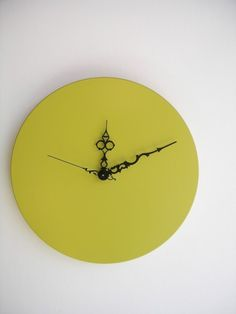 Chartreuse Clock #CruiseinChartreuse
