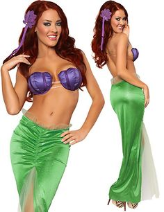 Princess Mermaid Costumes for Women...maybe if i had that chest!