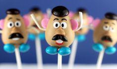 Mr potato cake pops