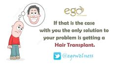 A good ‪#Hair‬ ‪‎Transplant‬ will keep paying rich dividends for a long #time‬. Visit: www.goego.in