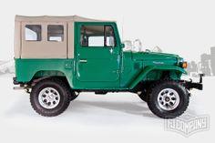 1983 Toyota Land Cruiser FJ40 John Deere Green #fjco1983johndeeregreen #fjcompany #toyota #landcruiser #fj40 #fjrestoration