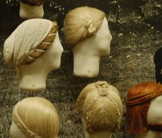 iron age hairstyles (Thyra: Iron Age Fashion/ Hairstyle/ Frisurer i Jernalderen)
