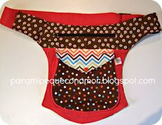 Waist pocket with bellows. Patterns and materials Diy Bags Purses, Fabric Purses, Diy Purse, Fabric Bags, Sewing Pockets, Clutch Pattern, Waist Pouch, Diy Couture, Hip Bag
