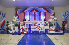 Decoração festa infantil Urso Marinheiro CCS Decorações e Eventos Provençal