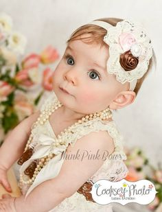 Blanche appreciated the timeless elegance of pearls and a fascinator from a very young age.