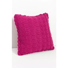 Nordstrom at Home 'Bubble Wrap' Knit Pillow Pink Fuchsia One Size ($29) ❤ liked on Polyvore
