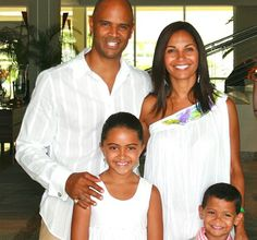 FAMILY PHOTO: THE WHITFIELDS - Black Celebrity Kids