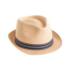 J.Crew - Kids' stripe band trilby hat