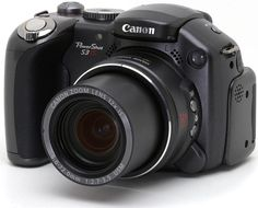 Canon Powershot S3 IS Camera