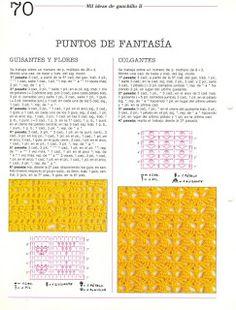 Album Archive - Mil ideas a ganchillo Crochet Stitches Patterns, Stitch Patterns, Free Graphics, Periodic Table, Diy, Mehndi, Albums, Crafts, Crochet Braids