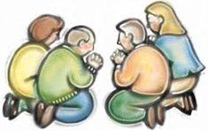 Resultado de imagem para family praying together clipart