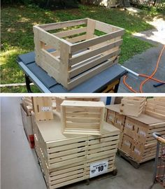How To Make Crates: Make An $11 Crate With A $3 2×4