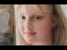 "▶ Yuehua He oil painting ""Girl"" - YouTube"