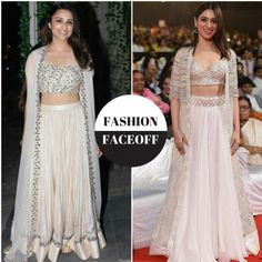 Fashion Faceoff: Parineeti Chopra or Tamannaah Bhatia, who wore the white lehenga with cape better?