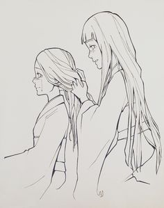 """charu-san: """"Overdue Company""""You've grown so beautifully.I feel that Hanabi never had anyone tell her she was beautiful. Considering she looked/looks up to Hinata, this would've meant a lot."""