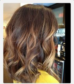 Sun kissed highlights. Great way to freshen up my current color :) doing asap!
