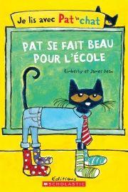 Pat le chat veut porter des vêtements cool pour aller à l'école. Après avoir écouté toutes les suggestions de son entourage, il se rend compte qu'il vaut mieux choisir selon ses propres goûts.